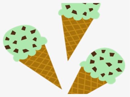 Mint Chocolate Chip Ice Cream Scoop Clip Art - Mint Chocolate Chip Ice Cream  Scoop Image