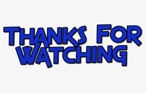 Animations Thanks For Watching Thank For Watching Free Transparent Clipart Clipartkey