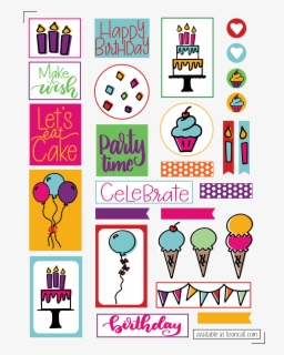 Free Happy Birthday Free Clip Art With No Background Clipartkey