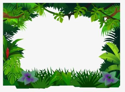 nature border clip art jungle frame clipart free transparent clipart clipartkey nature border clip art jungle frame