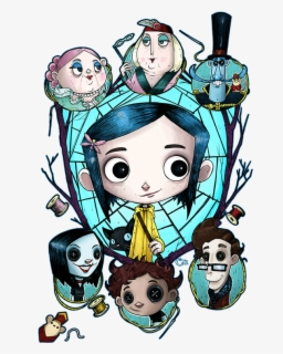 Coraline Free Transparent Clipart Clipartkey