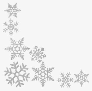 Snowflake Border PNG Images, Free Transparent Snowflake Border Download -  KindPNG