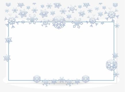 Snowflakes PNG Image | Clip art borders, Free png, Snowflakes