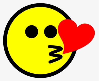 Png Smiley Bisous Free Transparent Clipart Clipartkey