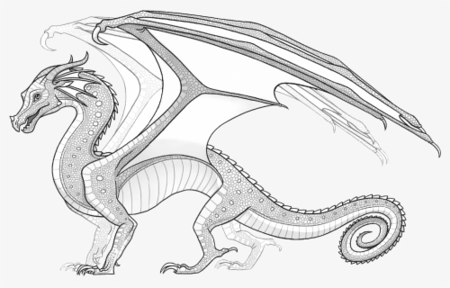 Wings Of Fire Rainwing Coloring Pages Wings Of Fire Sandwing Coloring Pages Free Transparent Clipart Clipartkey