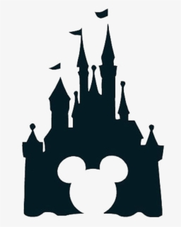 Free Disney Castle Black And White Clip Art With No Background Clipartkey