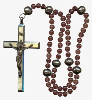 Rosary Prayer Beads Christianity Sacred, #1531497 - PNG Images - PNGio