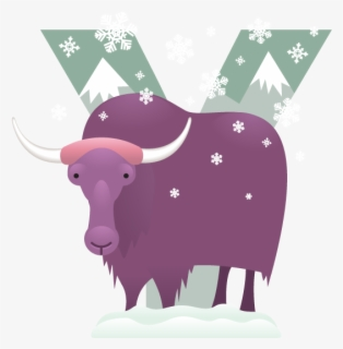 Alphabet Y With Picture Of Yak - Download Free Vectors, Clipart Graphics &  Vector Art
