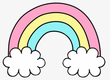Free Rainbow Clip Art With No Background Clipartkey