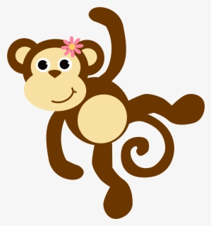 Top{21}+ Monkey Clipart Images with ... | Monkey coloring pages, Animal  coloring pages, Hanging monkey