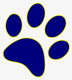 Blue And Yellow Paw Print Free Transparent Clipart Clipartkey Choose from 10+ yellow paw graphic resources and download in the form of png, eps, ai or psd. blue and yellow paw print free