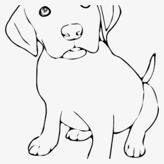 Free Dogs Black And White Clip Art With No Background Clipartkey