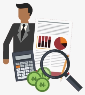 Imatge Clipart Finance, investment holding, credit, accounting, financial  management.