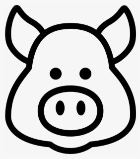 Free Black And White Pig Pictures, Download Free Clip Art, Free Clip Art on  Clipart Library