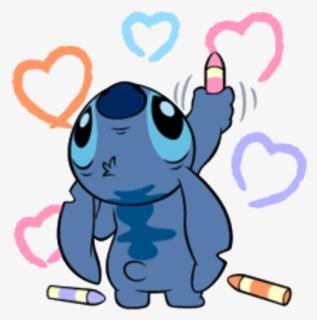 Stitch Lilo Stitch Liloandstich Cute Fanart Kawaii Stitch Drawing Free Transparent Clipart Clipartkey