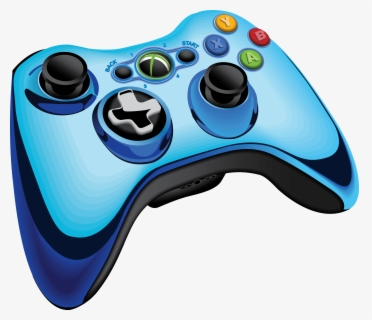 Game Controllers Xbox 360 Controller Clip Art Video - Clip Art Game  Controller , Free Transparent Clipart - ClipartKey