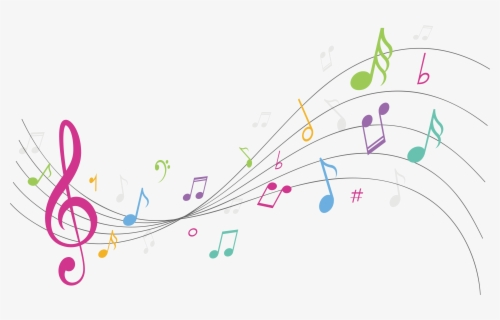 Free Colorful Music Notes Clip Art With No Background Clipartkey