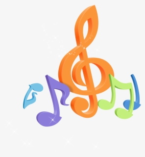Transparent Colorful Music Clipart Colorful Music Notes Png Free Transparent Clipart Clipartkey