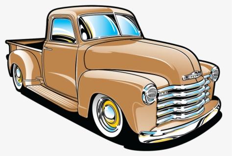 Clip Art Classic Truck Clipart - Old Red Truck Clip Art ...