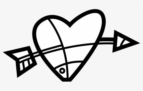 "Vector Illustration Of Valentine""s Day Sentimental - Heart, Transparent Clipart"