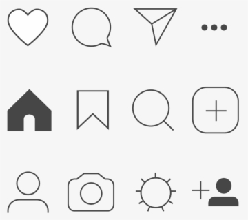 Transparent Background Instagram Icons Free Transparent Clipart Clipartkey