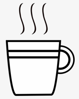 Free Coffee Black And White Clip Art With No Background Clipartkey