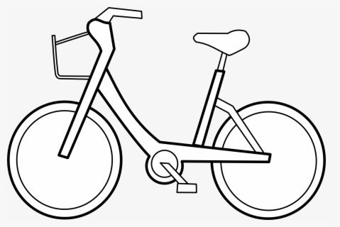 Free Bike Black And White Clip Art With No Background Clipartkey