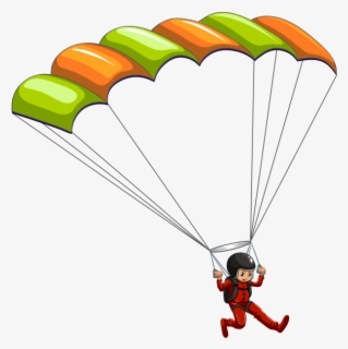 Free Skydiving Clip Art with No Background - ClipartKey