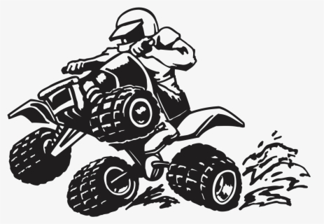 All Terrain Vehicle Motorcycle Honda Powersports Atv Quad Bike Silhouette Png Free Transparent Clipart Clipartkey