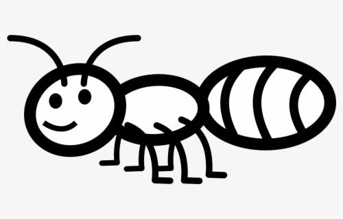 Ant Black And White Ant Free Illustrations On Pixabay Ant Outline Clip Art Free Transparent Clipart Clipartkey