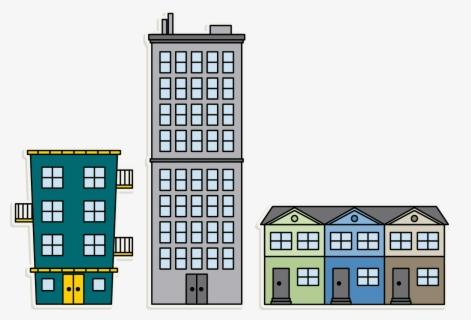 Apartment Complex Clipart Appartment - Apartment Transparent - Png Download  (#169145) - PinClipart