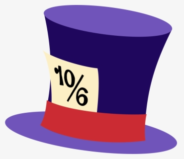 Free Mad Hatter Clip Art With No Background Clipartkey