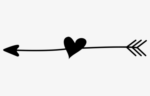 Free Arrow With Heart Clip Art with No Background - ClipartKey