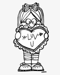 Valentines Day Clip Art Melonheadz, Transparent Clipart