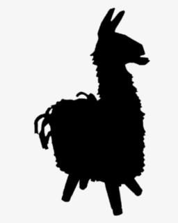 Llama Fortnite Svg Silhouette Cameo Cricut Design Fortnite Loot Llama Drawing Free Transparent Clipart Clipartkey