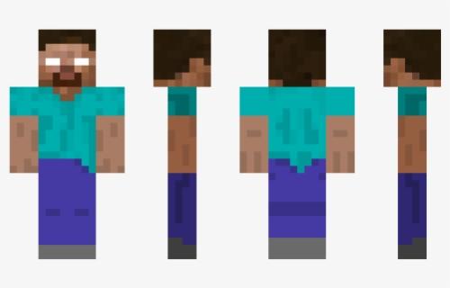 Clip Art Minecraft Pe Herobrine Skin Steve Minecraft Skin Free Transparent Clipart Clipartkey