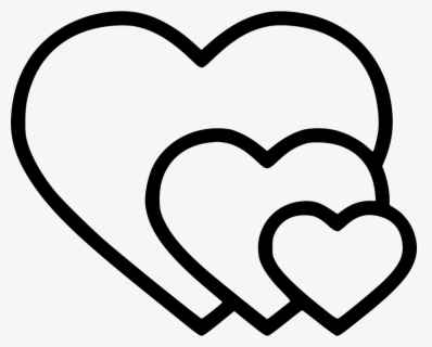 Romantic Valentine Valentines Day Heart Hearts - Icon Valentine Png Free, Transparent Clipart