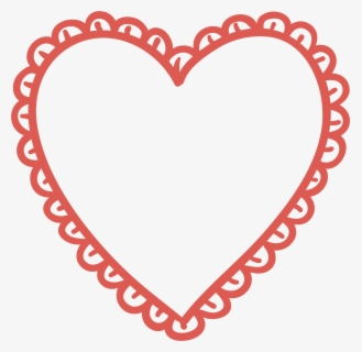 Valentines Day Heart Black And White Clip Art - Black And White Polka Dot Circles, Transparent Clipart