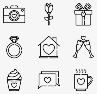 "Valentine""s Day - Diseases Icon, Transparent Clipart"