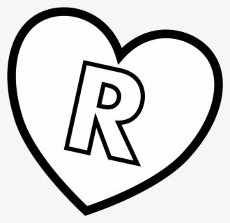 """Valentine""""s Day Alphabet Coloring Letter C - Numero 5 En Corazon, Transparent Clipart"""
