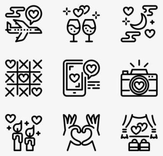 Valentines Day - Work Icon, Transparent Clipart