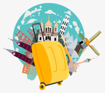 Travel Clip Art - Travel Clipart Png , Free Transparent Clipart - ClipartKey
