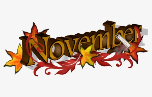 Free November Clip Art with No Background - ClipartKey