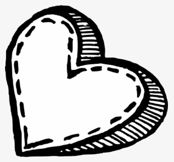 "Valentine""s Day Clip Art Black And White - Clip Art, Transparent Clipart"