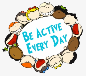 Be Active Every Day - Active Every Day For Kids , Free Transparent Clipart - ClipartKey