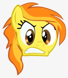 Transparent Mad Face Png Angry Mlp Fluttershy Vector Free Transparent Clipart Clipartkey
