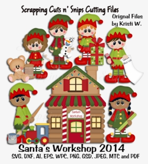 Free Santa S Workshop Clip Art With No Background Clipartkey