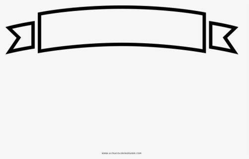 Ribbon Banner Coloring Page Ribbon Banner Png White Free Transparent Clipart Clipartkey